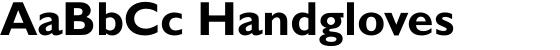 Gill Sans Bold
