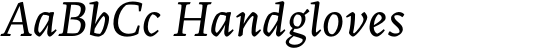 Artigo Global Italic