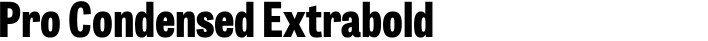 Tablet Gothic Pro Condensed Extrabold