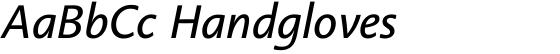 Linotype Aroma No. 2 Italic