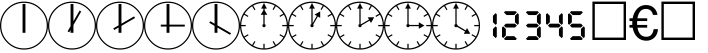 PIXymbols Clocks Bold