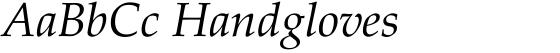 Palatino Linotype Italic