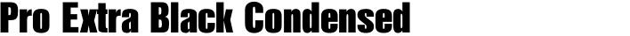 Nimbus Sans L Pro Extra Black Condensed