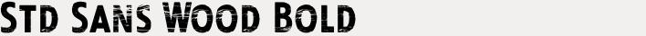 Look Std Sans Wood Bold