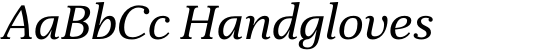 Sade Italic