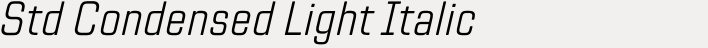 TT Lakes Neue Std Condensed Light Italic