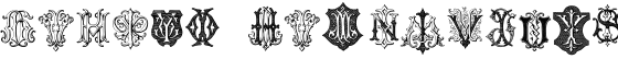 Intellecta Monograms GXIY