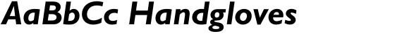 Gill Sans Greek Dual Greek Bold Inclined