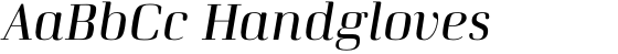 Curve Italic
