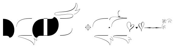 Wishes Script Ornaments Text Regular