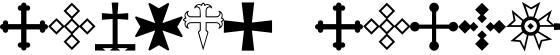 Apocalypso Figures Crosses
