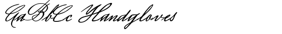 Luitpold Handwriting
