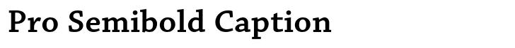 Chaparral Pro Semibold Caption