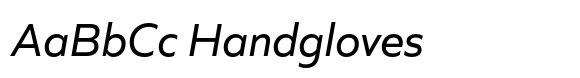Quiet Sans Italic