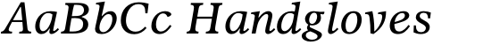 Olympian Italic