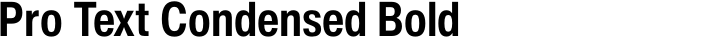 Helvetica Now Pro Text Condensed Bold