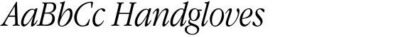 ITC Garamond Narrow Light Italic