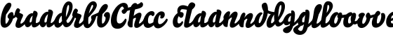 Bello Script Ligatures