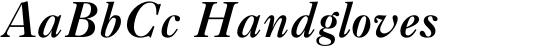 Caslon #3 Italic