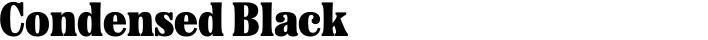 Etna Condensed Black