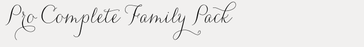Carolyna Pro Complete Family Pack