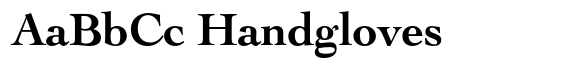Cochin Bold