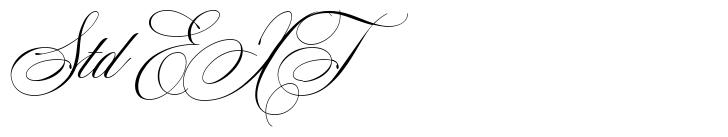 Mozart Script Std EXT