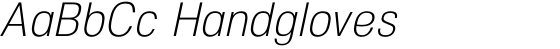 NeoGram Condensed Light Italic