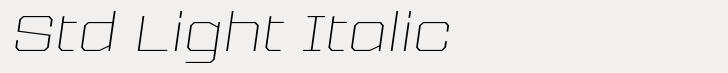 Tuerca Std Light Italic