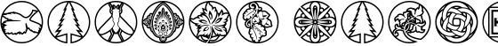Medallion Ornaments
