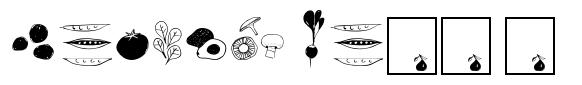 Fruit and Veggie Doodles Regular