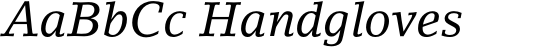 LinoLetter Italic