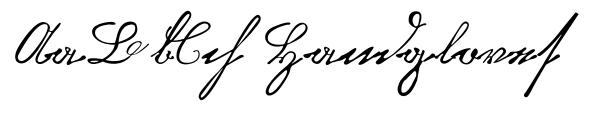 Kurrent Kupferstich Regular