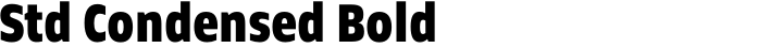 Faculty Std Condensed Bold