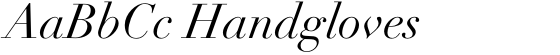 Linotype Didot Italic