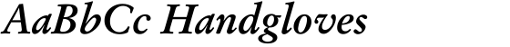 SG Garamond No. 1 SB Medium Italic