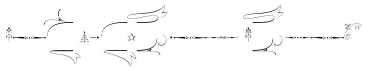 Wishes Script Std Ornaments Text Bold
