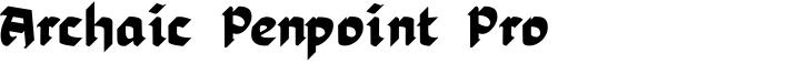 Archaic Penpoint Pro