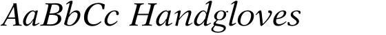 New Aster Italic